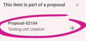 proposal homepage